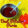 Beetroot and Potato Puree Recipe for Babies