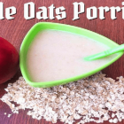 Apple Oats Porridge Recipe for Babies