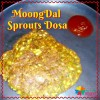 Moong Dal Sprouts Dosa Recipe for Kids