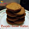 Punjabi Sweet Mathri Recipe for Children