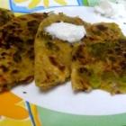 Easy Aloo Matar Paratha Recipe for Kids