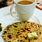 Besan Paratha Recipe | Gramflour Roti Recipe