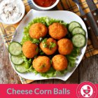 Easy Cheese Corn Balls Recipe