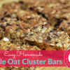 Maple Oats Bar Recipe