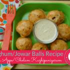 Sorghum/ Jowar Balls/Appe / Cholam Kuzhi Paniyaram Recipe