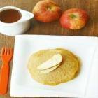 Eggless Apple Whole Wheat Pancake Recipe