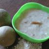 Chikoo Porridge for Babies
