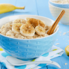 Banana Coconut Oats Porridge