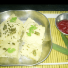 Sooji Cabbage Dhokla Recipe