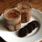Chocolate Cookie Smoothie - Quick Mommy Refresher