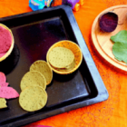Baked Sathumaavu Veggie Crackers