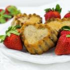 Strawberry Yogurt Muffins for Valentine's Day
