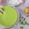 Green Peas and Potato Puree For Babies