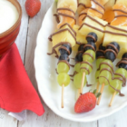 Colorful Fruit Skewers for Summer