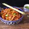 Masala Whole Wheat Roti Noodles