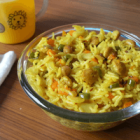 Vegetable and Soya Chunks Rice for Toddlers