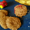 Vegan Banana Oatmeal Cookies for Babies