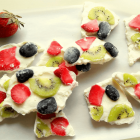 Healthy Frozen Yogurt Bark for Kids