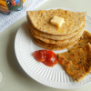 Whole Wheat Stuffed Tofu Paratha Recipe
