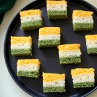 Tricolor Dhokla Recipe for Kids