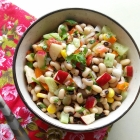 Black Eyed Bean Salad Recipe