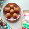 Mixed Nuts and Poha Ladoo