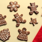 Chavanprash Gingerbread Cookies