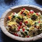 Sathumaavu Dahi Papdi Chaat Recipe