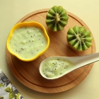 Pureed Kiwi Yogurt for Babies
