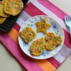 Chickpea Spinach Pancake