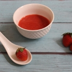 Strawberry Puree for Babies [Immune Boosting Puree for Babies]