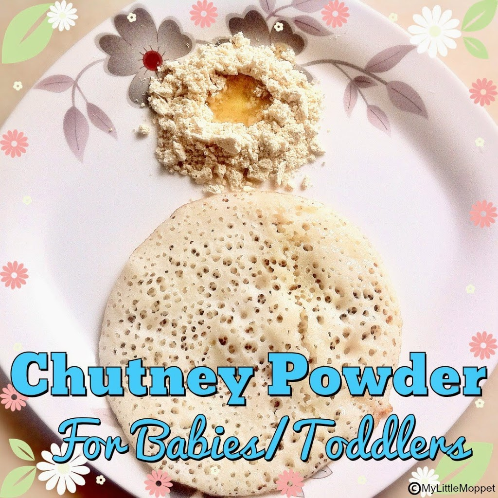 Chutney powder for babiestoddlers my little moppet chutney powder for babiestoddlers forumfinder Gallery