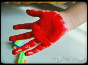 Handprint Fish 1