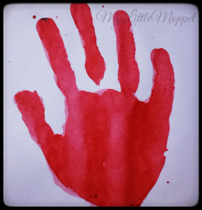 Handprint Fish 2