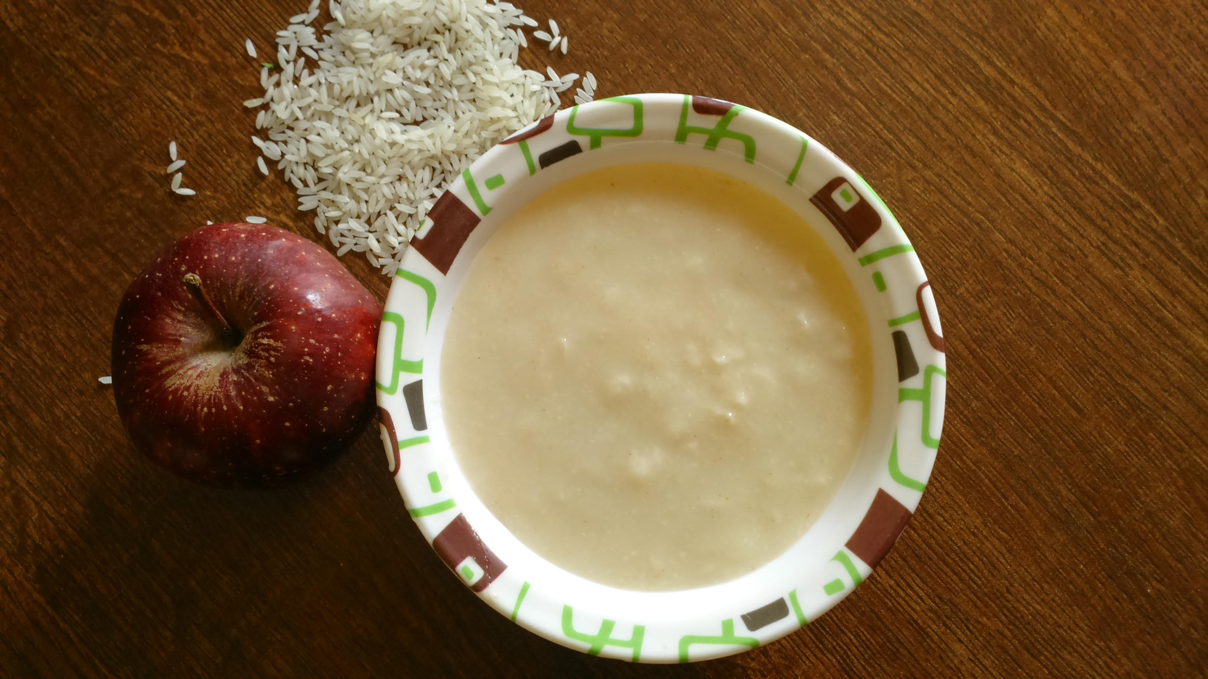 10 easy baby porridge recipe my little moppet apple cereal baby porridge recipe ccuart Image collections