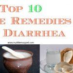 Top 10 Home Remedies for Diarrhea in Children