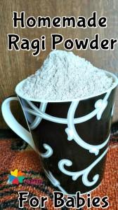 Homemade Ragi Powder recipe for babies