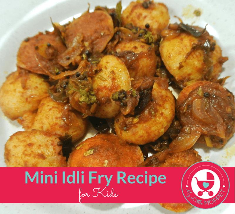 mini idli fry recipe