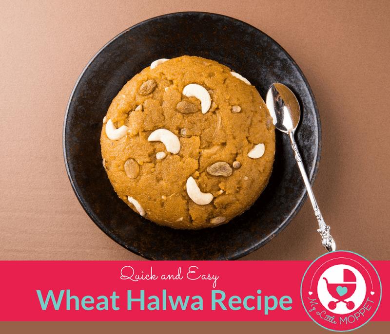 Wheat Halwa Recipe