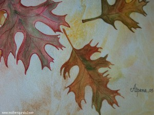 small leaf close up