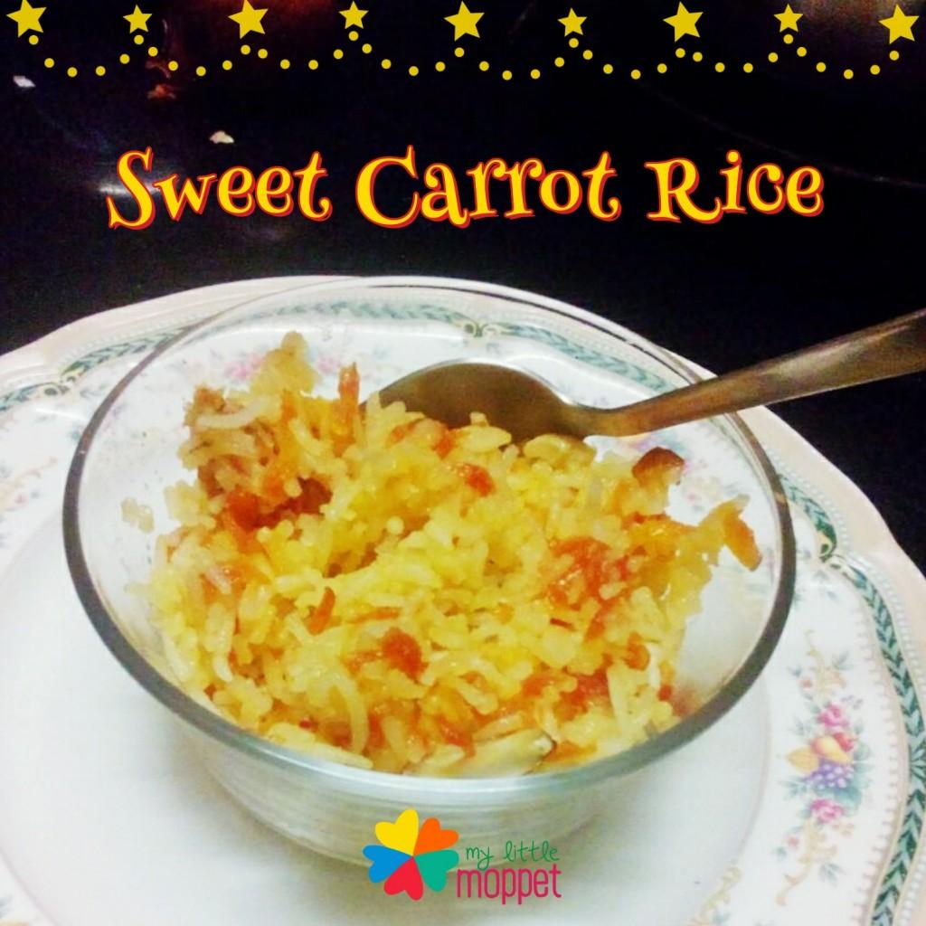 Sweet Carrot Rice Recipe