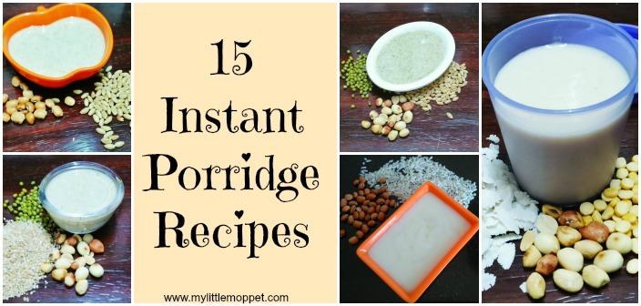 15 Instant Porridge Recipe