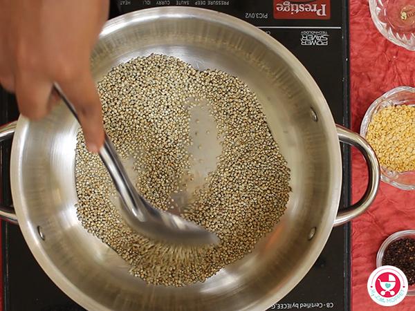 Bajra / Kambu Powder Recipe for Babies