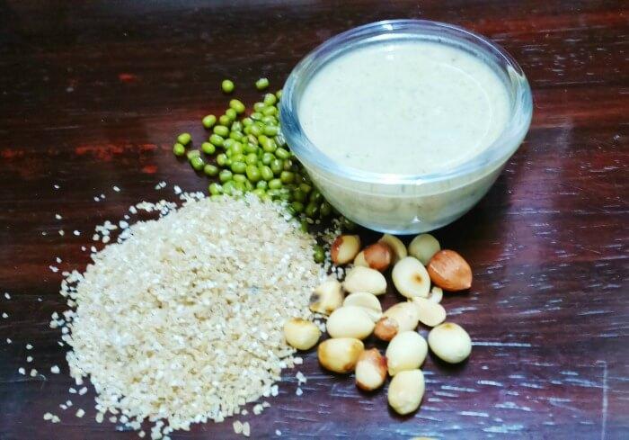 Instant Broken wheat Porridge for babies