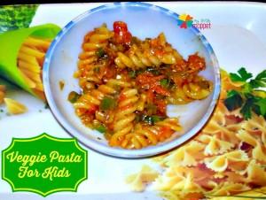 Vegetable Pasta Recipe for Kids