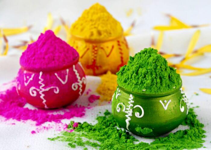 natural Eco Friendly Homemade Holi Powder recipe