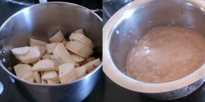 sweet Potato Dosa Sarkarai Kizhangu dosa