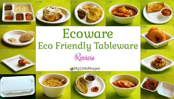 Ecoware ecofriendly tableware review MyLittleMoppet