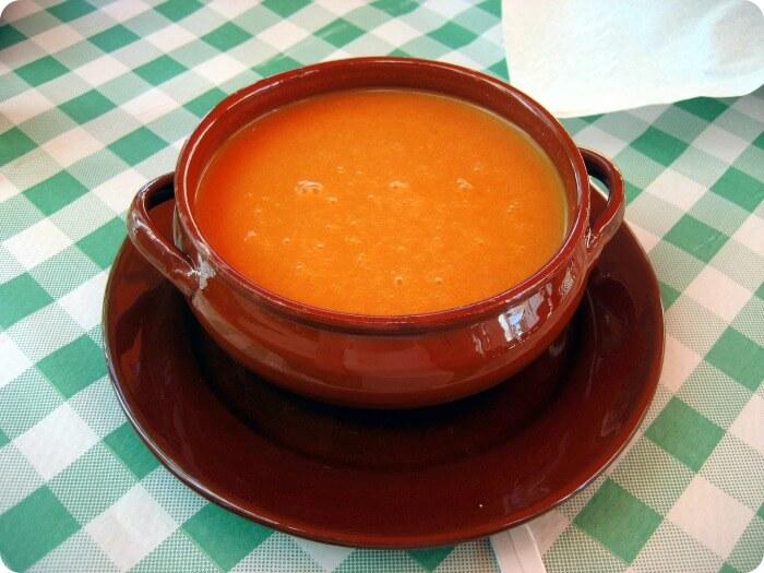 Gazpacho Recipe - Chilled tomato Cucumber Soup