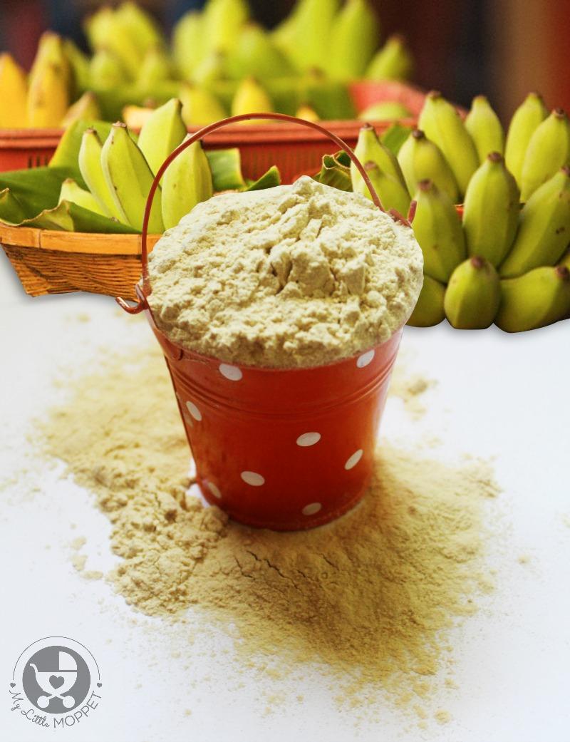 Kerala banana powder porridge recipe for babies how to make raw kerala banana powder at home forumfinder Gallery